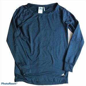 Adidas ClimaLite Black L/S Top XS Shirt Active